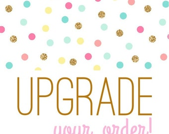 upgrade listing--personalization