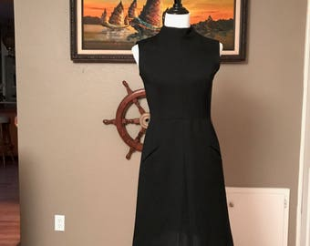 1960s Little Black Dress Mad Men