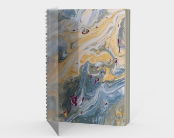 Golden Pond Spiral Notebook