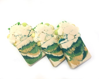 Avobath Lush Type -Handcrafted Soap, Artisan Bar Soap, Handmade Soap, Cold Process Soap, Soaps, Handmade in Florida -Boysenberry Soaps