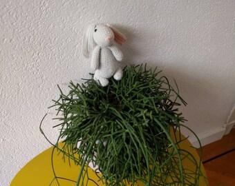 Cuddly rabbit crochet, crochet rabbit, rabbit toy, Easter decoration