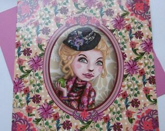 Lili Petrol birthday card