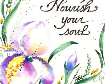 """Magnet - """"Nourish your soul."""""""