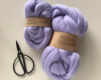 Merino Wool Roving 553 Lavender