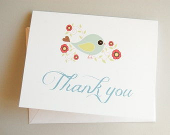 thank you card / greeting card / blank card / note card / stationary