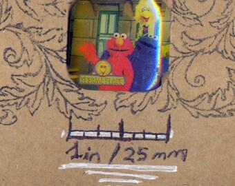 Sesame Street Retro TV PBS Big Bird Cookie Monster Elmo Sesame Place Jim Henson Vintage Lapel Pin Souvenir Hat Pin Jewelry Badge Button