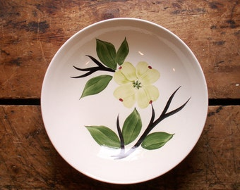 Vintage Dixie Dogwood Vegetable Serving Bowl