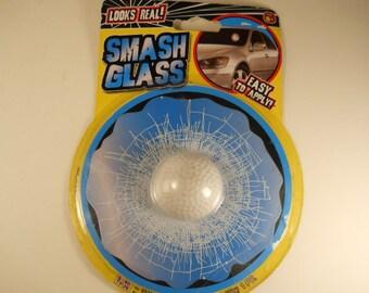 Vintage Smash Glass With Golf Ball Novelty Gag  Car Window Decorative Ty419