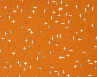 Sale! Birch Wink Orange Organic Cotton Interlock Knit Fabric