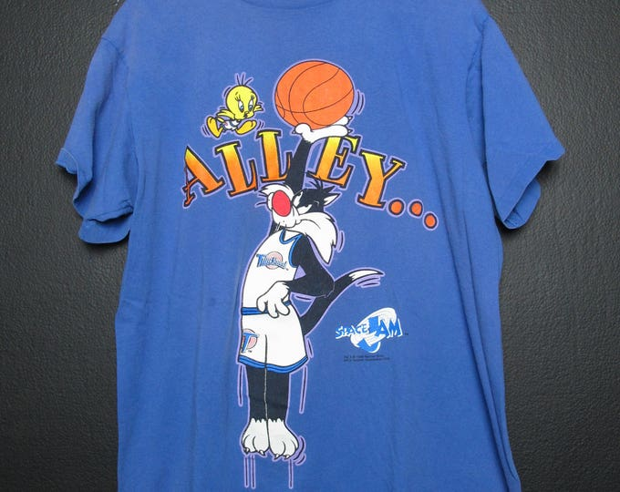 Space Jam Looney Tunes 1996 vintage Tshirt