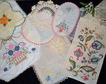 French Countryside Table Top Mix Up...Ten Pieces