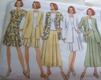 Butterick 4506 uncut size 6, 8 and 10