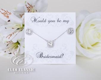 Bridesmaid Sets | Bridesmaid Jewelry | Bridal Sets | Bridesmaid Gifts | Personalized Gifts | Wedding Jewelry | Weddings