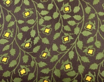 Tree of Life Palampore Collection by Mary Koval for Windham Circa 1800-1820 Reproduction Fabric 40365-3 HALF YARD CUT