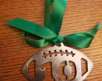 Football Ornaments Steel (Player Number)