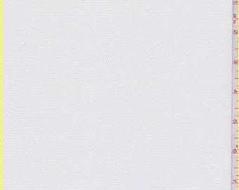 White Pique Swimwear Lining, Fabric By The Yard