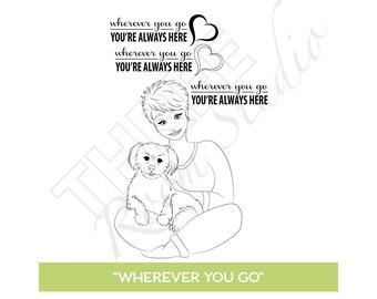 "TRS Digital Stamp - ""Wherever You Go"" Digital Stamp"