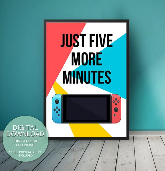 Nintendo Switch Game Room Decor Video Game Decor Game Room