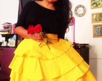Vintage Belle Cosplay Skirt