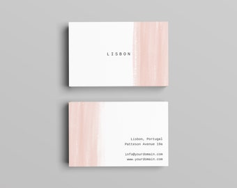 Lisbon Business Card Template