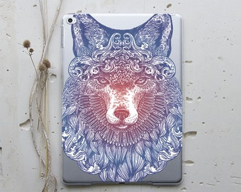 Fox iPad 6 Case iPad 3 Case iPad Mini 4 Case iPad Air Case iPad Hard Case Smart Cover Tablet Stand iPad Mini Hard Case iPad Air Cover WC4020