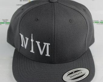 Grey-t #1! Beautiful 416 hats. Original, Custom Snap backs, CN Tower, The Six, 6ix, Area Code, 416 Hats Roman Numerals, The Weeknd, IVIVI