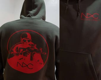 NDC™ (Nageur De Combat) High quality hoodie - choose colour combo and personalisation possible