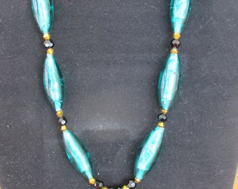 Long Oval Necklace