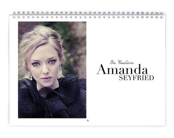 Amanda Seyfried Vol.1 - 2018 Calendar
