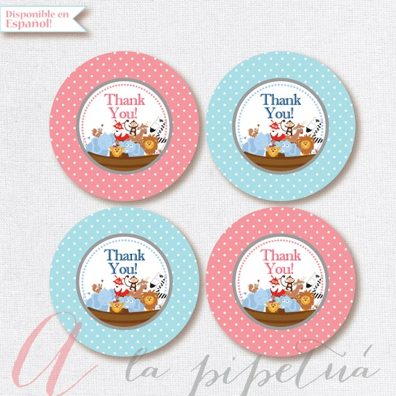 Thank you favor tags ahs ark party tags printable noahs ark thank you favor tags ahs ark party tags printable noahs ark tag baptism tagrthday diy thank you tags babyshower instant download from pipetua on negle Choice Image