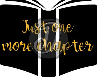 Just one more chapter decal