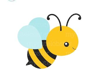 bee clipart etsy rh etsy com bumblebee clipart bumblebee clipart