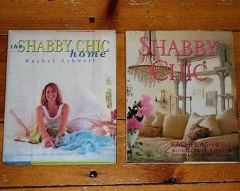 2 Rachel Ashwell SHABBY CHIC HC Books