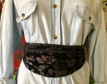 1990s Leather Belt Bag Fanny Pack