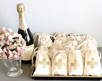 Bridesmaid gift boxes - Glitter cross - Gift boxes - Favor bag