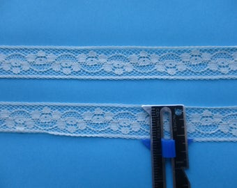 French Val Lace in Ecru by Half-Yd