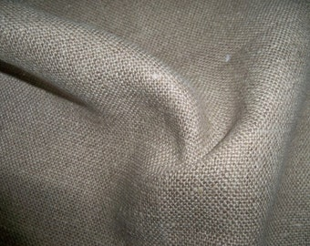 LEE JOFA G P & J BAKER Linen Fabric Remnant Natural