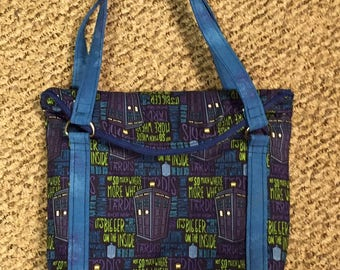Doctor Who Slouchy Purse