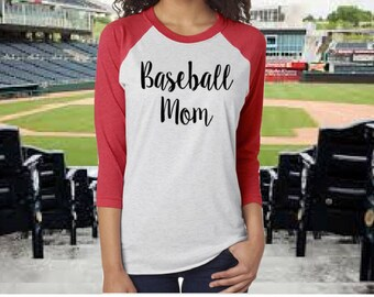 Baseball Mom Shirt - Baseball Season Shirt - Women's Baseball Shirt - Baseball Life - Baseball Mom  - Baseball Raglan -  Hey Batter Batter