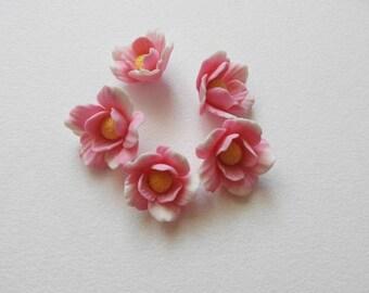 lot 5 cold porcelain Apple Blossom
