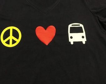 Peace love transportation