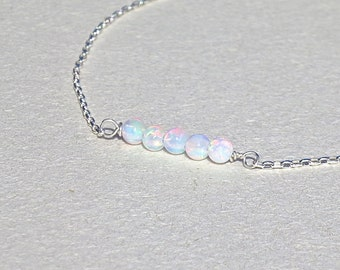 bracelet white amethyst infinity birthstone cz jewelry color xny opal tennis bling inlay simple silver