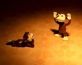 Little Monkey Tells A Big Tale - Photograph - Various Sizes