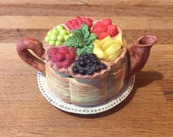 Fruit Tray Teapot