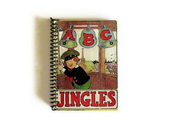 Jingles ABC ABC Notebook A6 Spiral Bound