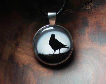 Crow Jewelry Pendant