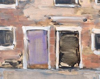 Doors in Venice Italy Painting Original