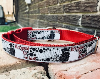 It's Good to be Bad! Dog Collar