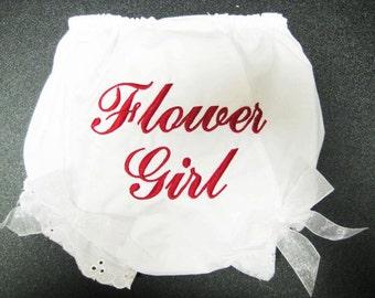 Flower Girl Bloomers
