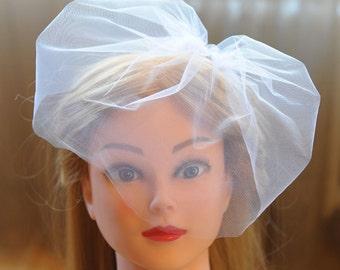 bird cage veil tulle birdcage veil wedding veil birdcage veil headband wedding headpiece white veil small veil bridal veil